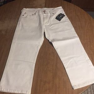 New lucky brand crop jean size 27
